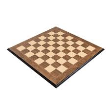 deluxe walnut folding wood chess board with 2