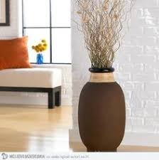 Large Vase With Twigs Bamboo From Dollar Tree Black Wood Wavy Sticks From Ikea Home
