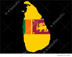 Map Of Sri Lanka Map Of Sri Lanka Stock Illustration I1263399 At Featurepics