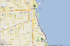 Google Map Chicago by Mini Angels July 2011