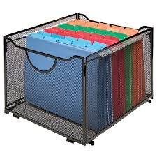 Desks At Office Depot Innovative Storage Designs Mesh Collapsible Crate Black Holds