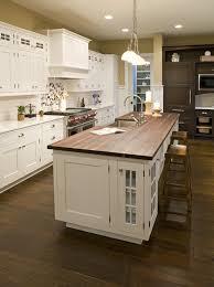 Kitchen Room Design Impressive Butcher Block Island In Kitchen