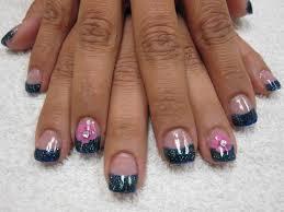 nail art las vegas embedded flower nails