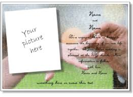 engagement invitation cards template best template collection