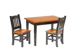 solid wood childrens table and chairs 42 solid wood kids table and chairs amish mission kids