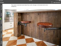 built in hinged stools kitchens pinterest stools kitchens