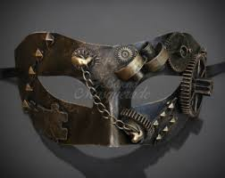 steunk masquerade mask masquerade mask men etsy