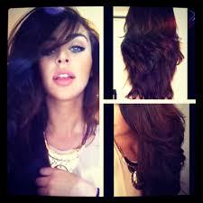 upside down v shape haircut how i cut layers in my hair carlibel55 youtube