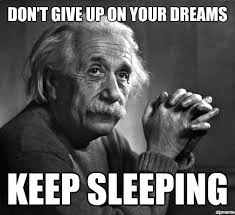 Dream Meme - i pledge to never give up on my dreams but some ignorant sluts