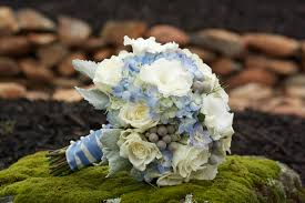 blue flowers for wedding modern concept blue wedding flowers with sandras flower studio