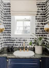 Spa In Bathroom - schumacher queen of spain black and white wallpaper
