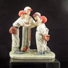 choosing up figurine by norman rockwell