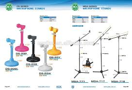 ds 53 professional desk microphone stand table mic stand