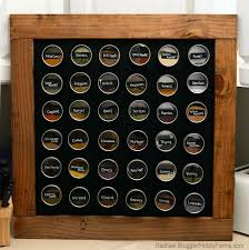 Red Spice Rack Diy Framed Chalkboard Bonus Spice Rack Hobby Farms