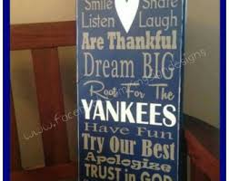 gifts for yankees fans new york yankees sign us baseball league sport sign sports