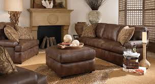 leather livingroom set living room ideas with leather sofas looking living room