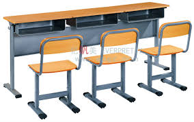 Used Student Desks For Sale Cheap Price 3 Seat Desk And Chair 3 Student Bench Desk And