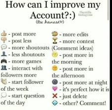 do this how can i improve my account by bukowskl on deviantart
