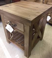 rustic pine end table rustic pine side table coma frique studio ccda3cd1776b