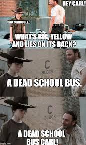 Hey Carl Meme - big and yellow imgflip