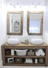 wood bathroom ideas rustic chunky solid wood bathroom sink vanity unit handmade any