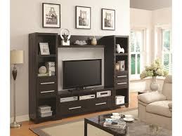 Wall Units Coaster Entertainment Units Entertainment Wall Unit With 6 Drawers