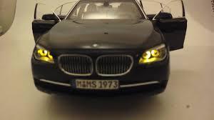 remote control car lights diecast 1 18 kyosho bwm 750li with remote control xeon led light