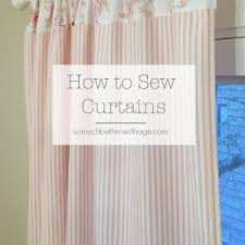 Sewing Curtains With Lining How To Make Curtains With Blackout Lining So Much Better With Age