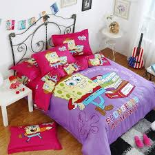 Spongebob Bedding Sets 100 Cotton Spongebob Bedding Sets Bed Set Linen Cotton
