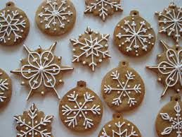 cookies cookie frosting snowflakes and gingerbread