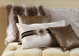 Faux Fur Throw Pillow Lynx Faux Fur Pillow Pillows