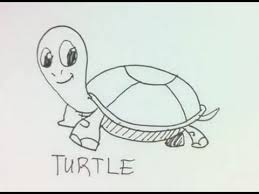 coloring lovely turtle easy draw hqdefault coloring