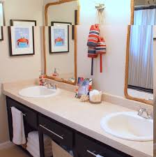 Painting Ideas For Bathroom Bathroom Simple Cool Nautical Kids Bathrooms Nautical Bathroom