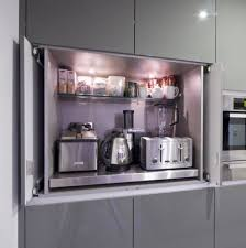 kitchen appliance ideas 42 creative appliances storage ideas for small kitchens digsdigs