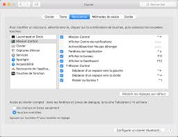 raccourci bureau mac raccourcis vers les commandes d accessibilité mac assistance apple