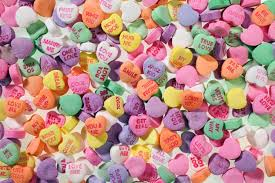 heart candy sayings why i candy valentines