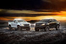 chevy colorado zr2 midnight and dusk editions expand choices in 2018 chevrolet