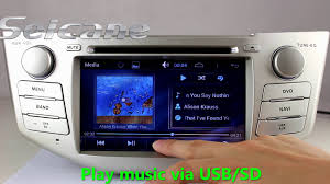 android 4 4 2004 2012 toyota harrier dvd gps navigation touch