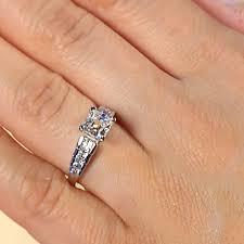 cinderella engagement ring engagement rings multi cinderella staircase engagement ring