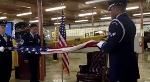 Flag Folding Ceremony Unauthorized Patriotism Usaf Uses Physical Force To Control Flag