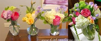bridal shower flowers spring blooms naperville wedding florist