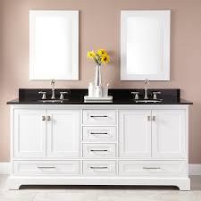 Double Sinks White Double Sink Vanity Signature Hardware