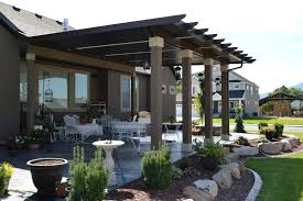 Outside Patio Covers by Inexpensive Patio Cover Options Outdoor Patio Cover Options Patio