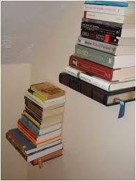 Bookshelves On The Wall Decorating Room Ladder Shelf Bookcase Wooden Wall Interior Design