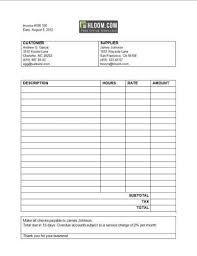 service invoice template free foxy media invoice