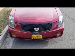 cadillac cts v grill replace the grille with a black mesh grille on my cadillac cts