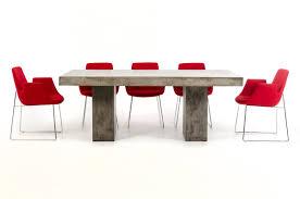 modrest saber modern concrete dining table modern dining