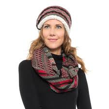infinity headband woolrich knit headband and infinity scarf set for women