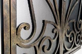 custom fireplace screen image collections home fixtures