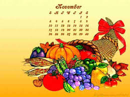 wallpaper design and for thanksgiving calendar wallpapers